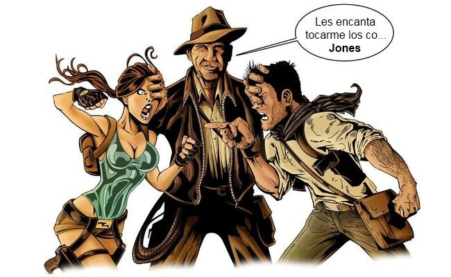 Lara Croft - Indiana Jones - Nathan Drake