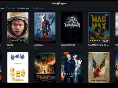 Pelismagnet es un 'fork' de Popcorn Time lleno de películas dobladas el español