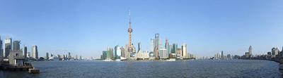 Los extravagantes edificios de Shangái