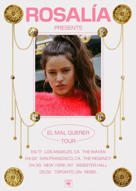 Rosalía se lleva 'El Mal Querer' de tour por los Estados Unidos, pero ¿y España pa cuándo?