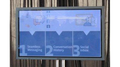Facebook presenta su nuevo sistema de mensajes personales
