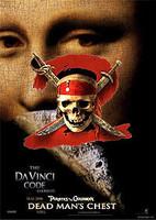 'Piratas del Caribe' la más taquillera, pero 'El código Da Vinci' la más rentable