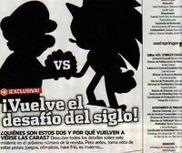 Mario y Sonic podrían volver a verse las caras en un videojuego