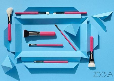 Pink Elements de Zoeva, la colección de brochas que todas queremos tener