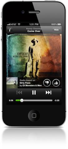 """Spotify está a punto de lanzar su """"radio móvil"""" para su aplicación de iOS"""