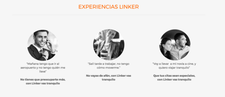 Experiencias linker