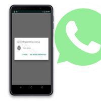 WhatsApp pone a prueba el bloqueo con huella dactilar: la última beta incluye esta función