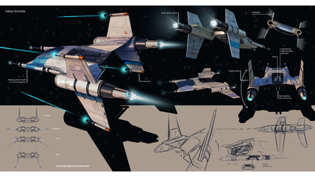 Salen a la luz los nuevos bocetos de la nave espacial de Porsche