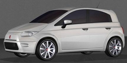 Recreaciones del Fiat Panda 2010