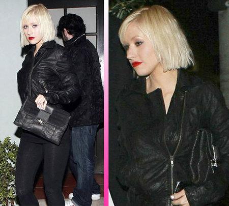 Christina Aguilera cambia de look