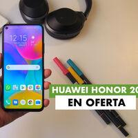 Honor 20, con cuádruple cámara trasera y potente Kirin 980, a precio de escándalo hoy: llévatelo por 189 euros en Phone House
