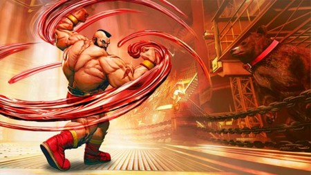 Zangief no se podía quedar fuera de Street Fighter V y así se presenta