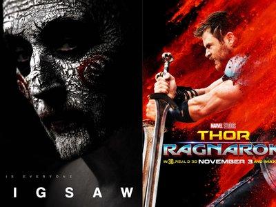 Las aventuras de Thor y las torturas de Jigsaw dominan la taquilla