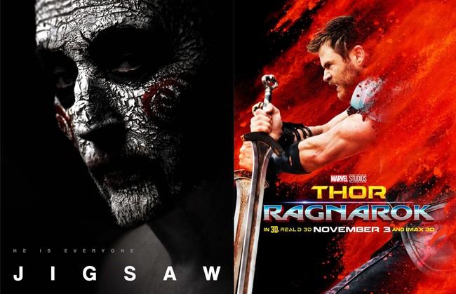 Jigsaw y Thor: Ragnarok