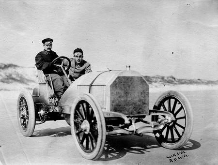 William K. Vanderbilt Jr. Mercedes en Daytona