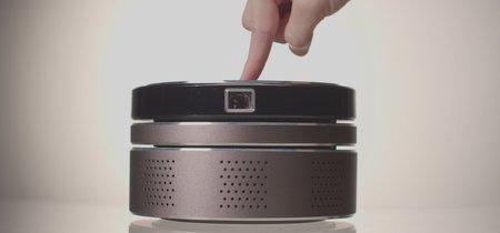 N-Tech, un proyector portátil 4K en tamaño mini con sistema de sonido incorporado