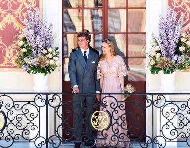¡Valentino firma un nuevo diseño real! En esta ocasión Beatrice de Borromeo elige el rosa para casarse con Pierre Casiraghi