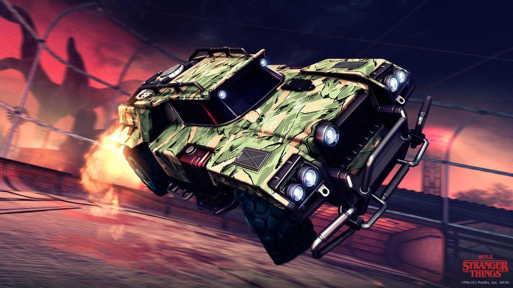 Rocket League une fuerzas con Stranger Things para su próximo evento de Halloween
