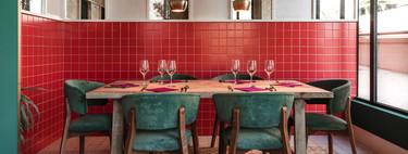 Toma Tomate, nueva apuesta gastronómica en Madrid con decoración de Dorotea Estudio