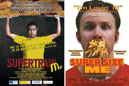 Super Train Me: documental que muestra los resultados de combinar comida chatarra y deporte