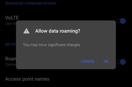 Google añadirá una función en Android para avisarnos del roaming y sus costes adicionales