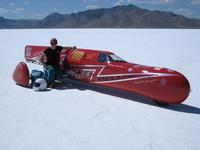 """KillaJoule, la """"moto"""" eléctrica más rápida de Bonneville: 387 Km/h"""