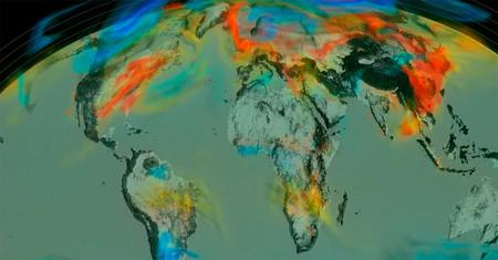 Este vídeo de la NASA muestra cómo se desplaza el CO2 que emitimos. Y no trae buenas noticias
