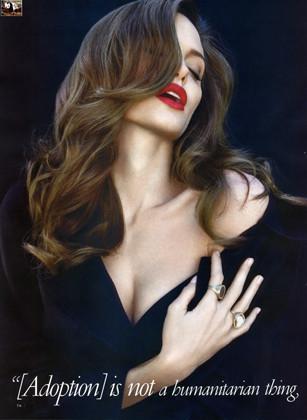 La sesión completa de Angelina Jolie para Vainity Fair