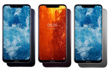 Nokia 8 1 Versiones