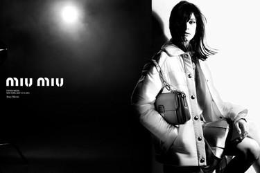 Stacy Martin es la nueva chica Miu Miu. Su campaña otoño-invierno 2014