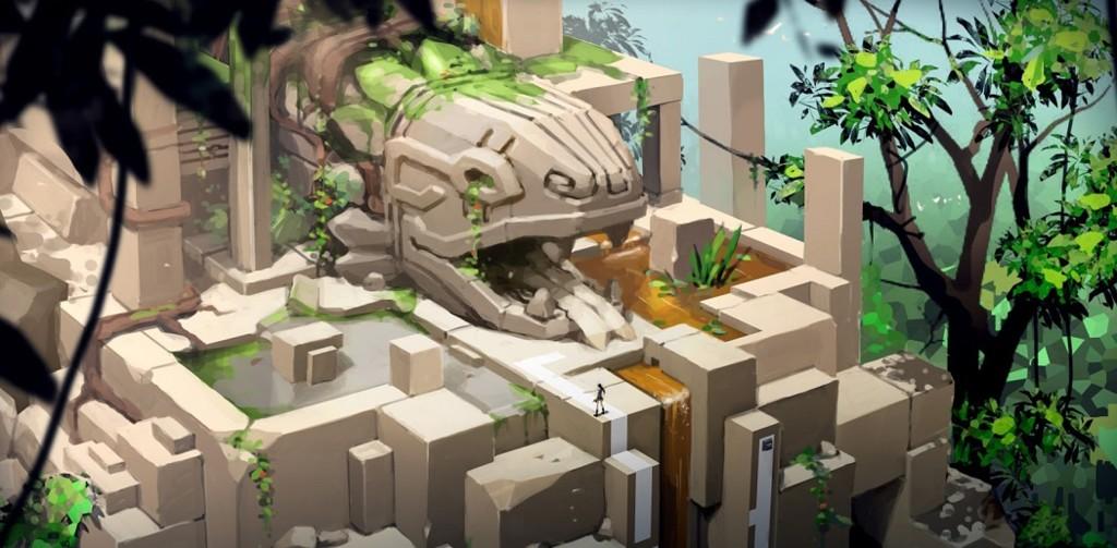 Lara Croft Go Concept Art Td01
