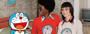 Gucci y Doraemon han creado esta colección de lujo tan molona: lo puedes comprobar en sus coloridas imágenes de campaña