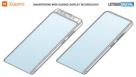 Xiaomi Smartphone Pantalla Enrollable Estira Patente