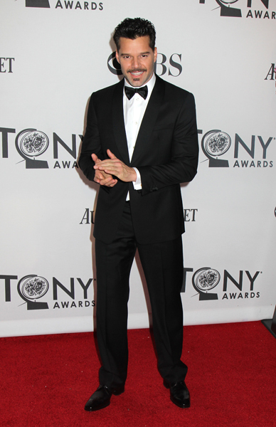 Ricky Martin en los Tony Awards