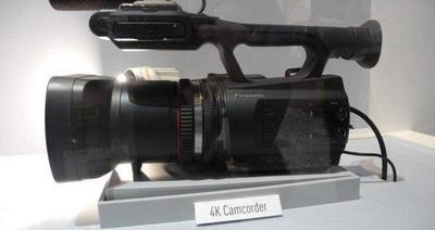 Panasonic presenta prototipo de videocámara 4K