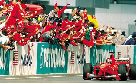 Gran Premio de Malasia 1999: Michael Schumacher se convirte en el mejor segundo piloto