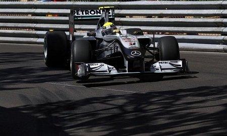 Mercedes GP entre los mejores en Mónaco