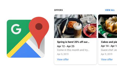 Google Maps estrena una nueva vista de ofertas en las fichas de negocios