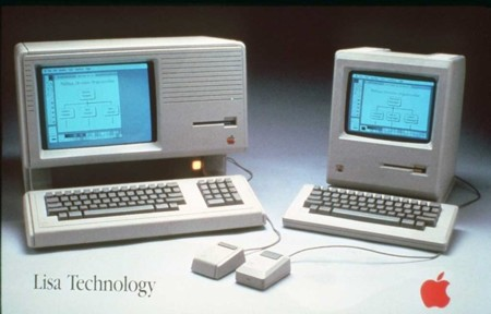 Apple Lisa y Apple Macintosh