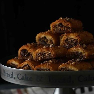 Baklavas de chocolate, receta tradicional turca con una vuelta de tuerca