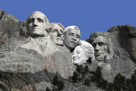 Barack Obama Hillary Clinton Hug Photoshop Battle 17