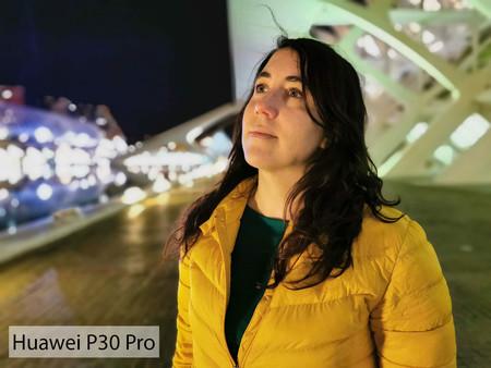 Huawei P30 Pro Retrato Noche