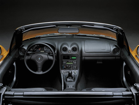 Mazda Mx 5 Roadster NB interior
