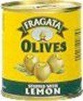Aceitunas manzanilla rellenas de limón.