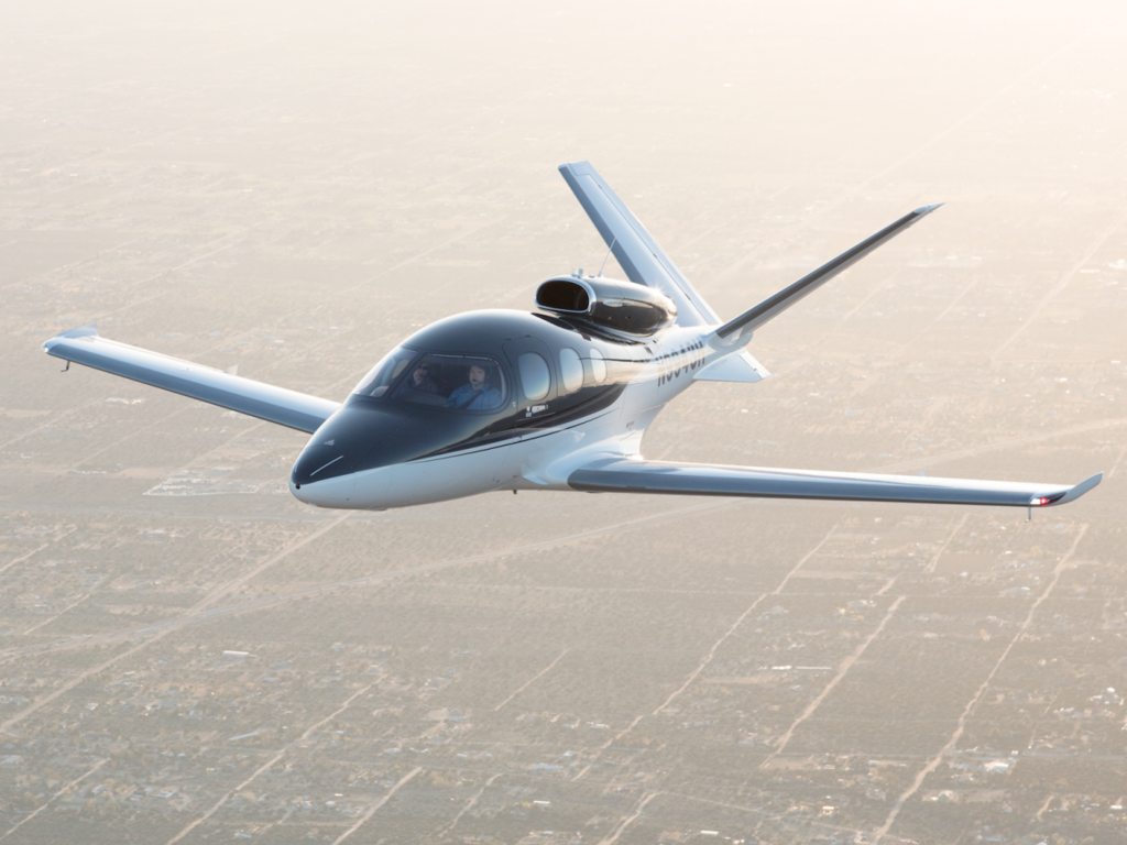 The Cirrus Vision Jet Is The Latest Entrant Into The Very Light Jet Market