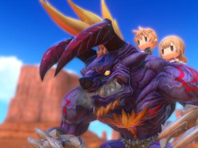 Las mecánicas más imporantes de World of Final Fantasy en un gameplay de 23 minutos