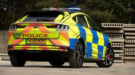 Ford Mustang Mach E Policia Reino Unido 4