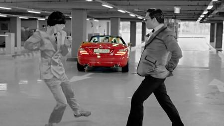Videoclip Op an Gangnam Style