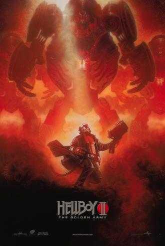 Nuevo póster de 'Hellboy II: The Golden Army' ('Hellboy II: El Ejército Dorado')