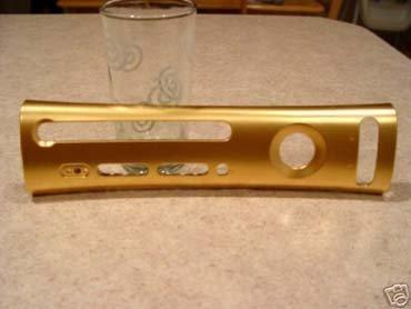 Carcasa para XBox 360 de oro macizo